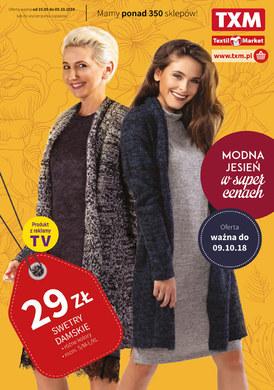 Gazetka promocyjna Textil Market - Modna jesień w super cenach