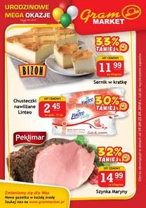 Gazetka promocyjna Gram Market, ważna od 19.09.2018 do 25.09.2018.