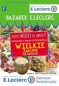 Gazetka promocyjna E.Leclerc, ważna od 11.09.2018 do 22.09.2018.