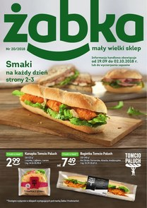 Gazetka promocyjna Żabka, ważna od 19.09.2018 do 02.10.2018.