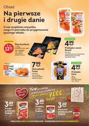 Gazetka promocyjna Freshmarket, ważna od 19.09.2018 do 02.10.2018.