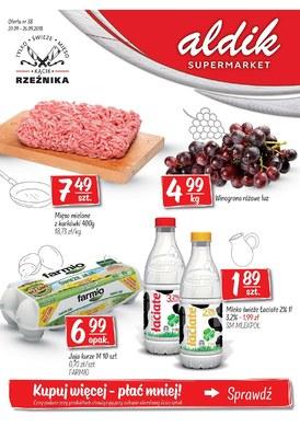 Gazetka promocyjna Aldik - Kupuj więcej - płać mniej!