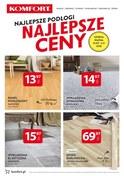 Gazetka promocyjna Komfort - Najlepsze podłogi najlepsze ceny  - ważna do 06-11-2018