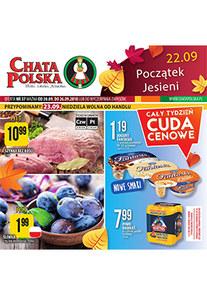 Gazetka promocyjna Chata Polska, ważna od 20.09.2018 do 26.09.2018.
