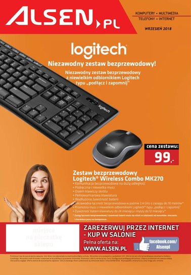 Gazetka promocyjna Alsen, ważna od 01.09.2018 do 30.09.2018.