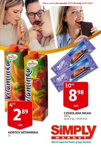 Gazetka promocyjna Simply Market, ważna od 20.09.2018 do 26.09.2018.