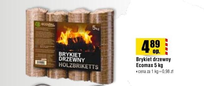 Archiwum Brykiet Drzewny Ecomax 5 Kg Bricomarche 12 09