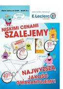 Gazetka promocyjna E.Leclerc - Niskimi cenami szalejemy - Zamość