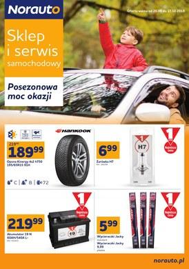 Gazetka promocyjna Norauto - Posezonowa moc okazji - ważna od 20-09-2018