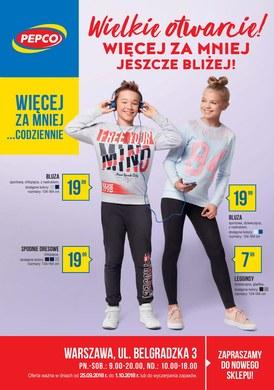 Gazetka promocyjna Pepco - Wielkie otwarcie! - Warszawa