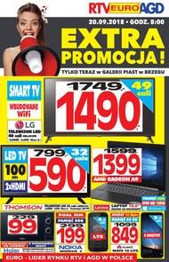 Gazetka promocyjna RTV EURO AGD, ważna od 20.09.2018 do 30.09.2018.