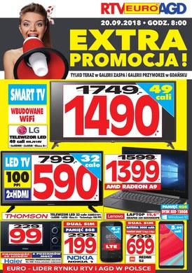 Gazetka promocyjna RTV EURO AGD - Extra promocja - Gdańsk