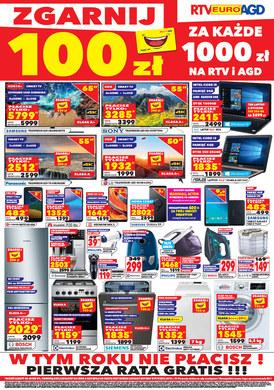Gazetka promocyjna RTV EURO AGD - Zgarnij 100zł