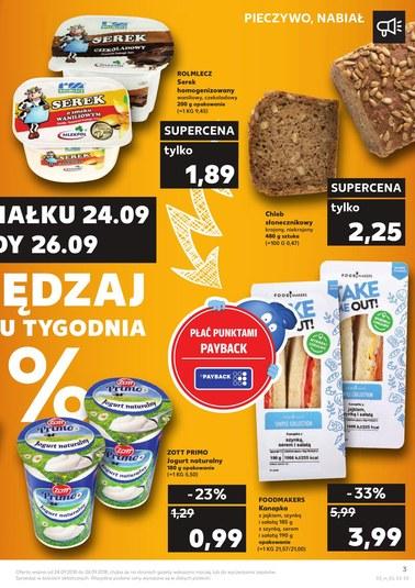 Gazetka promocyjna Kaufland, ważna od 24.09.2018 do 26.09.2018.