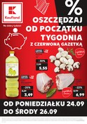 Gazetka promocyjna Kaufland - Oszczędzaj od początku tygodnia - ważna do 26-09-2018