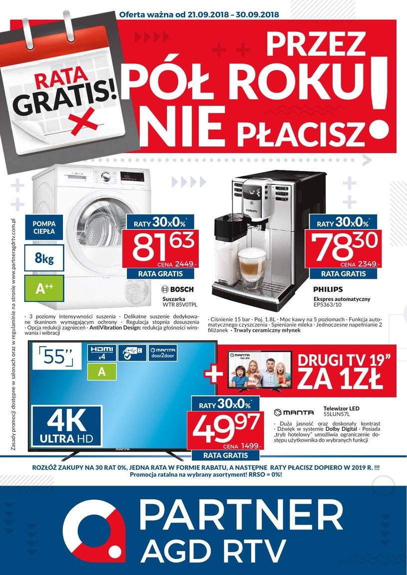Partner AGD RTV : 1 gazetka