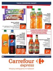 Gazetka promocyjna Carrefour Express, ważna od 25.09.2018 do 01.10.2018.