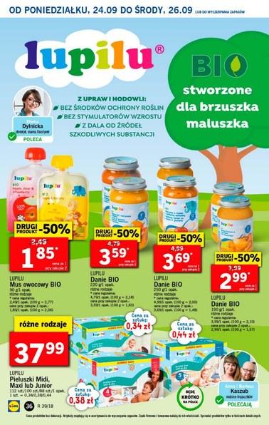 Gazetka promocyjna Lidl, ważna od 24.09.2018 do 26.09.2018.