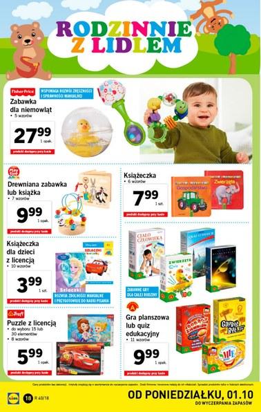 Gazetka promocyjna Lidl, ważna od 01.10.2018 do 07.10.2018.
