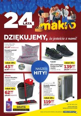 Gazetka promocyjna Makro Cash&Carry - 24 lata Makro