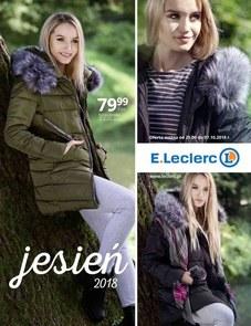 Gazetka promocyjna E.Leclerc, ważna od 23.09.2018 do 21.12.2018.