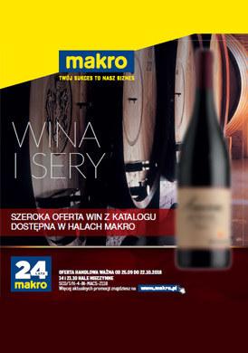 Gazetka promocyjna Makro Cash&Carry - Wina i sery