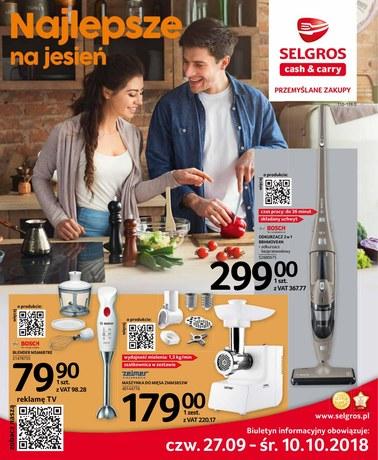 Gazetka promocyjna Selgros Cash&Carry, ważna od 27.09.2018 do 10.10.2018.