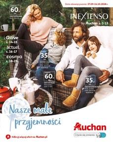 Gazetka promocyjna Auchan, ważna od 27.09.2018 do 14.10.2018.