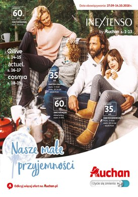 Gazetka promocyjna Auchan - Nasze małe przyjemności