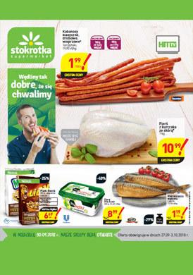 Gazetka promocyjna Stokrotka - Hit TV - supermarket