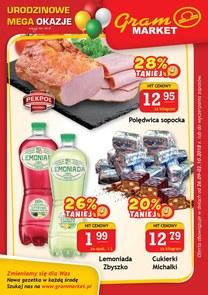 Gazetka promocyjna Gram Market, ważna od 26.09.2018 do 02.10.2018.