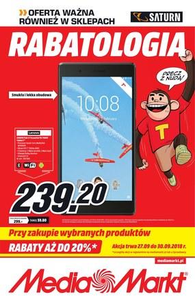 Gazetka promocyjna Saturn, ważna od 27.09.2018 do 30.09.2018.