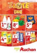 Gazetka promocyjna Auchan - Złote dni - ważna do 03-10-2018
