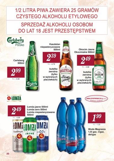 Gazetka promocyjna Społem WSS Śródmieście, ważna od 01.10.2018 do 31.10.2018.