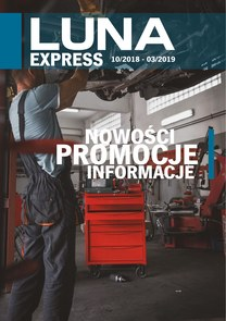 Gazetka promocyjna Luna, ważna od 01.10.2018 do 31.03.2019.