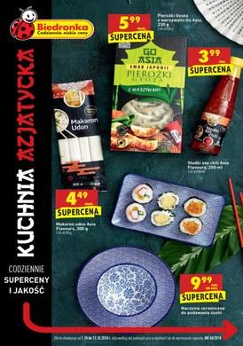 Gazetka promocyjna Biedronka - Kuchnia Azjatycka