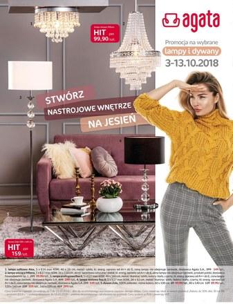 Gazetka promocyjna Agata , ważna od 03.10.2018 do 13.10.2018.