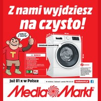 Gazetka promocyjna Media Markt - Z nami wyjdziesz na czysto!
