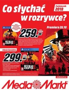 Gazetka promocyjna Media Markt, ważna od 01.10.2018 do 31.10.2018.