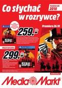 Gazetka promocyjna Media Markt - Co słychać w rozrywce? - ważna do 31-10-2018