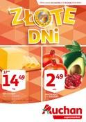 Gazetka promocyjna Auchan - Złote dni - ważna do 10-10-2018