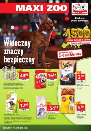 Gazetka promocyjna Maxi Zoo, ważna od 03.10.2018 do 09.10.2018.