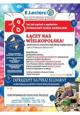 Gazetka promocyjna E.Leclerc - Łączy nas Wielkopolska - Poznań