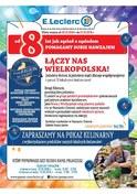 Gazetka promocyjna E.Leclerc - Łączy nas Wielkopolska - Poznań   - ważna do 22-10-2018