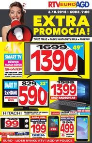 Gazetka promocyjna RTV EURO AGD, ważna od 06.10.2018 do 17.10.2018.