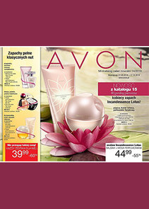 Gazetka promocyjna Avon, ważna od 27.09.2018 do 17.10.2018.