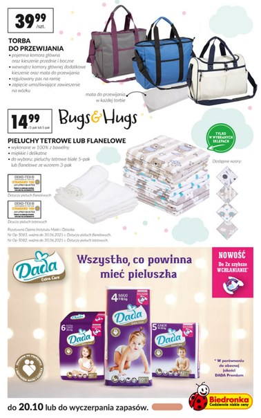 Gazetka promocyjna Biedronka, ważna od 08.10.2018 do 20.10.2018.
