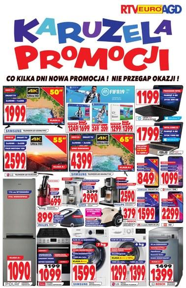 Gazetka promocyjna RTV EURO AGD, ważna od 08.10.2018 do 06.11.2018.