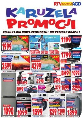 Gazetka promocyjna RTV EURO AGD - Karuzela promocji