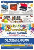 Gazetka promocyjna PSB Mrówka - Z nami cieplej - Gniezno